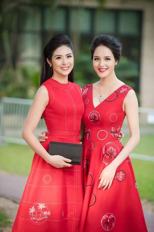 Hồng Quế đẹp mặn mà với váy trễ nải, Quỳnh Nga táo bạo diện đầm mỏng manh - 8