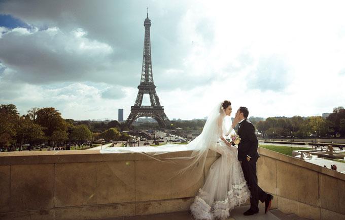 """Ảnh cưới đẹp tới nín thở của """"mỹ nữ Vũng Tàu đi xe 70 tỷ"""" bên đại gia hơn 18 tuổi - 3"""