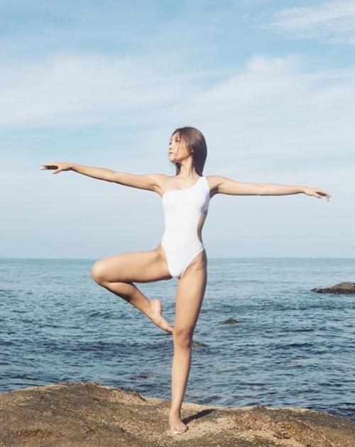 Con đường từ nữ sinh mũm mĩm hóa mỹ nhân cơ bắp của cô gái Hàn Quốc - 5