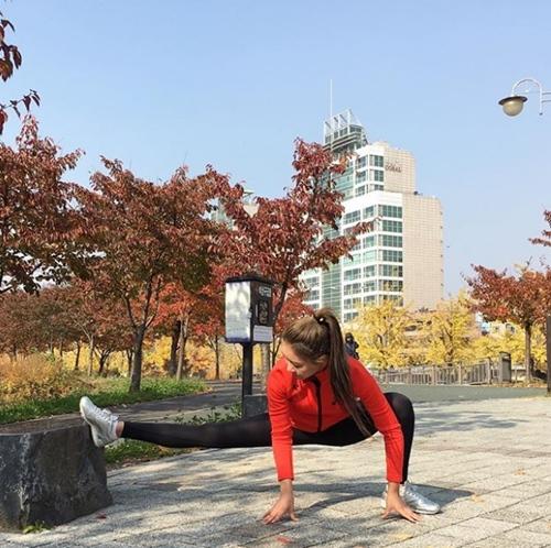 Con đường từ nữ sinh mũm mĩm hóa mỹ nhân cơ bắp của cô gái Hàn Quốc - 14