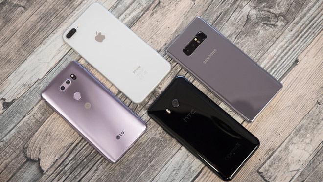 Đọ camera bộ tứ LG V30, iPhone 8 Plus, Galaxy Note 8 và HTC U11 - 1