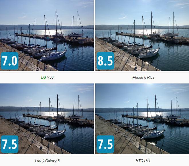 Đọ camera bộ tứ LG V30, iPhone 8 Plus, Galaxy Note 8 và HTC U11 - 2