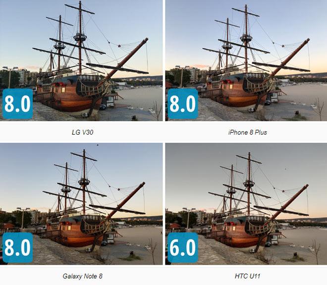 Đọ camera bộ tứ LG V30, iPhone 8 Plus, Galaxy Note 8 và HTC U11 - 3