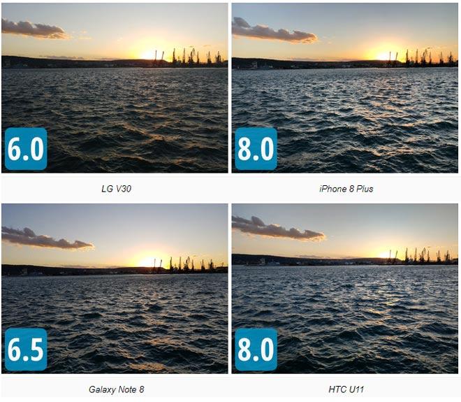 Đọ camera bộ tứ LG V30, iPhone 8 Plus, Galaxy Note 8 và HTC U11 - 4