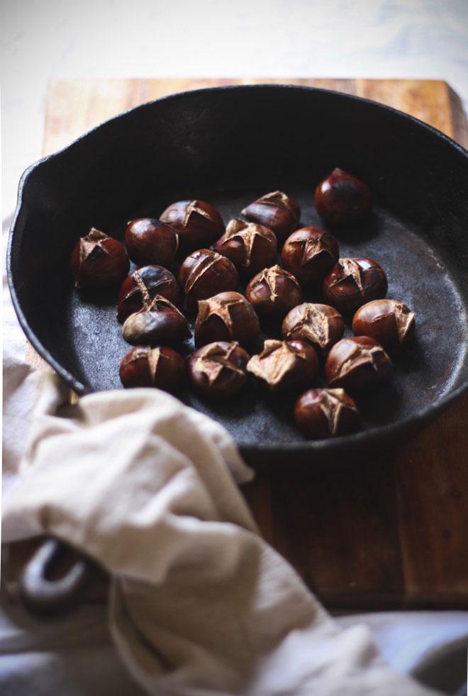 Cách rang hạt dẻ bở tung, thơm phức ai ăn cũng ghiền - 3