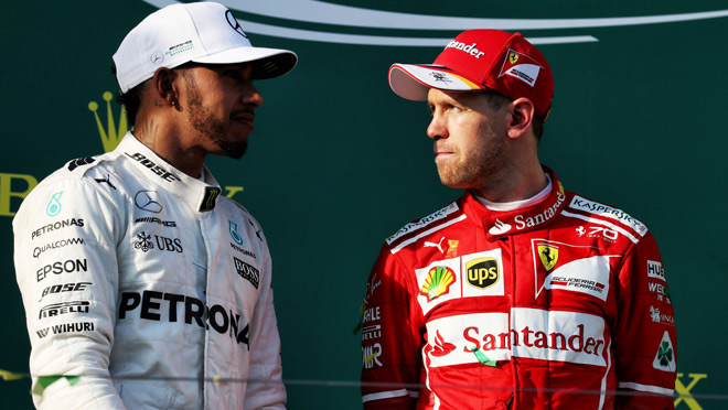 """Bảng xếp hạng đua xe F1 - Brazilian GP: Vettel """"lên đỉnh"""", Hamilton vẫn trăn trở - 1"""