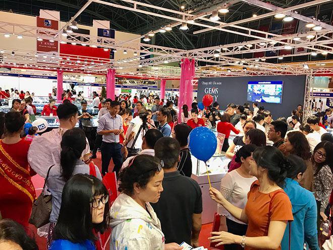 Giải mã sức hút của Trang sức DOJI tại các kì Hội chợ Quốc tế Trang sức Việt Nam - 1