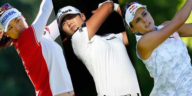 """Golf 24/7: Cao thủ Trung Quốc nặng gần 90kg """"đè"""" 3 mỹ nhân - 2"""