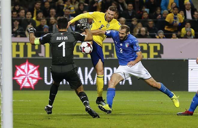 Italia - Thụy Điển: Lời nguyền Ibrahimovic & điểm tựa Lindelof - 1