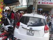 Tin tức trong ngày - Ô tô vi phạm bị giữ vẫn chạy ra ngoài gây tai nạn hàng loạt?