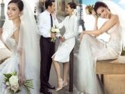 """Ảnh cưới đẹp tới nín thở của  """" mỹ nữ Vũng Tàu đi xe 70 tỷ """"  bên đại gia hơn 18 tuổi"""