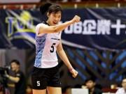 """Bóng chuyền: Thanh Thúy 20 tuổi 1m93, ghi 40 điểm """"hủy diệt"""" đối thủ"""