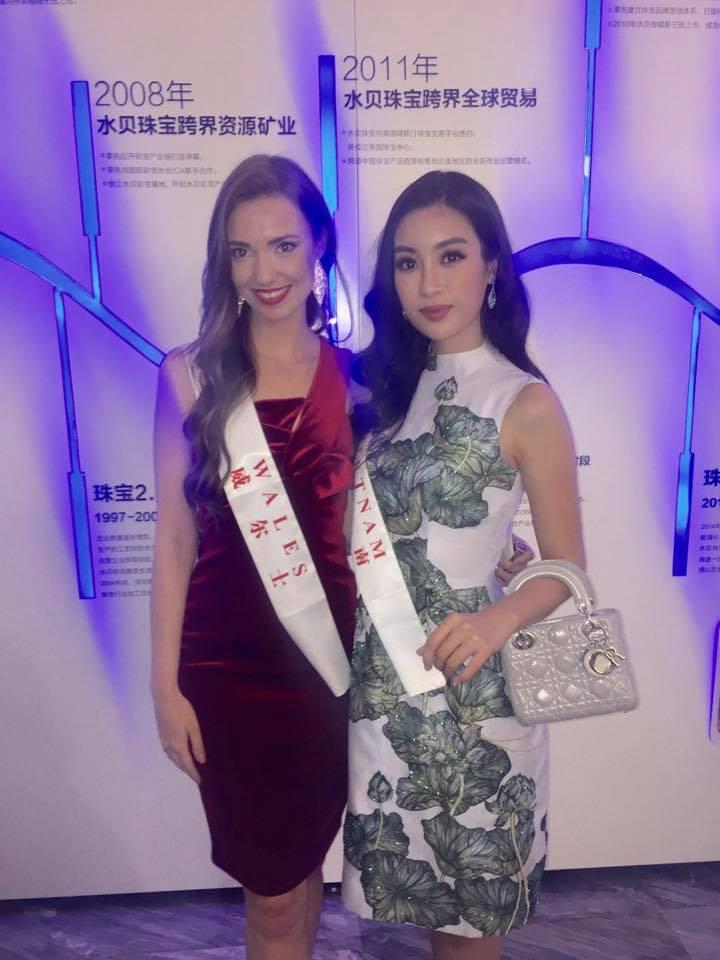 Loạt ảnh ít ỏi của Mỹ Linh tại Hoa hậu Thế giới 2017 - 11