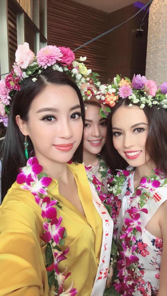 Loạt ảnh ít ỏi của Mỹ Linh tại Hoa hậu Thế giới 2017 - 6