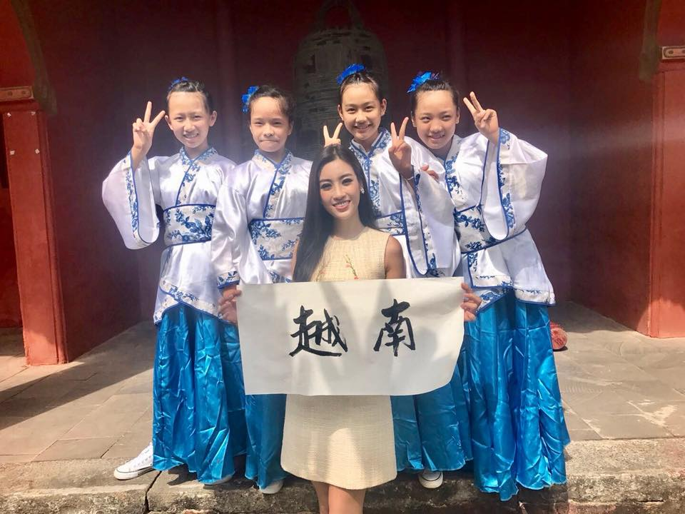 Loạt ảnh ít ỏi của Mỹ Linh tại Hoa hậu Thế giới 2017 - 8