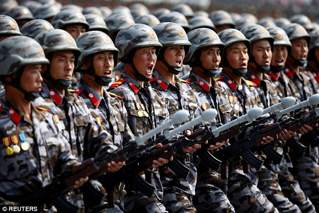 Tướng Mỹ cảnh báo thảm bại nếu đối đầu 1,2 triệu quân Triều Tiên - 1