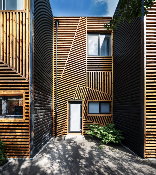 Ngôi nhà có tên  Arthouse  này là một dự án được xây dựng theo kiểu nhà ở bậc thang.