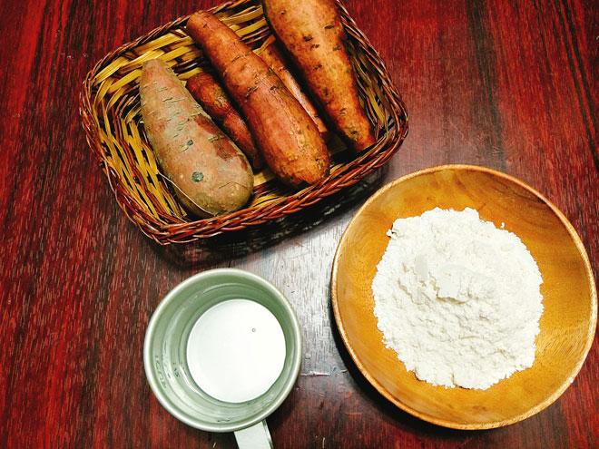 Cách làm khoai lang chiên vỏ ngoài giòn rụm, bên trong thơm bùi - 2