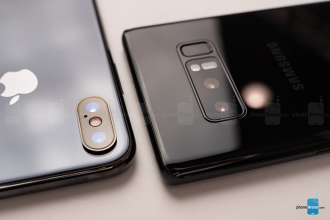 """So sánh iPhone X với Galaxy Note 8: """"Cuộc chạm trán nảy lửa"""" - 11"""