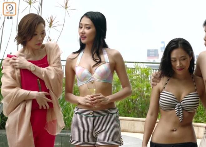 Khoe vòng một nóng bỏng, mỹ nữ TVB trở thành nhân vật được cư dân mạng tìm kiếm - 1