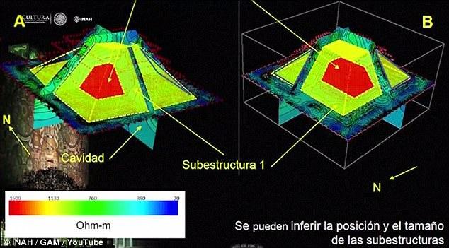 Hầm dưới kim tự tháp ngàn tuổi hé lộ bí mật thần rắn của người Maya - 2