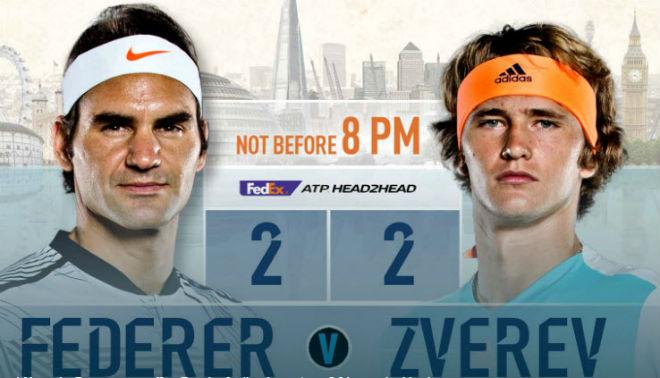 """ATP Finals ngày 3: Zverev quyết hạ Federer, đòi nợ cho """"sư phụ"""" - 1"""