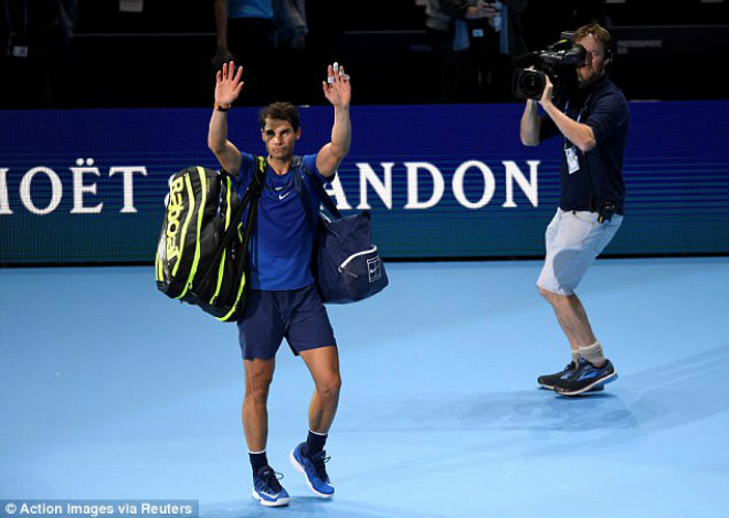 """Nadal chia tay ATP Finals: Báo chí """"cược tất tay"""" cho Federer - 1"""