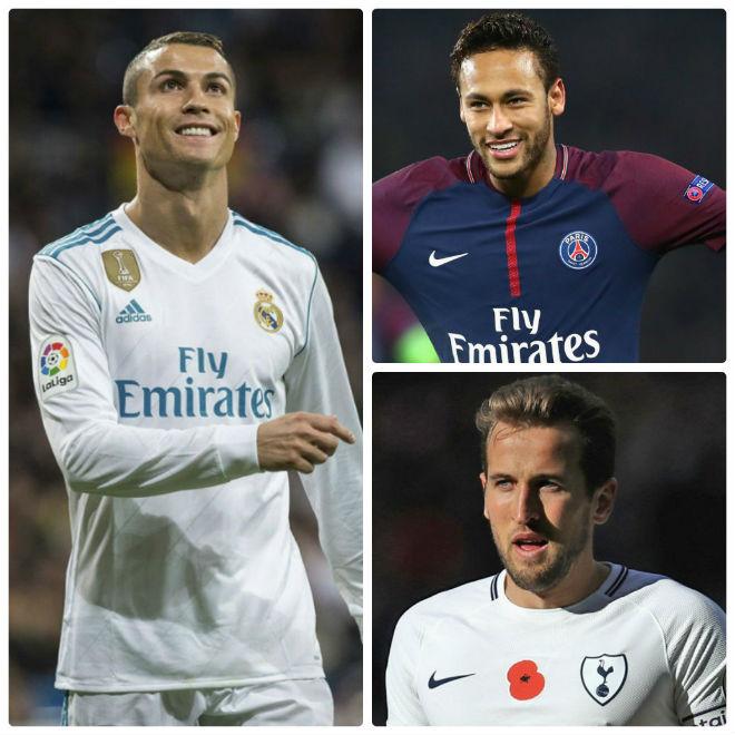 """Real mê mẩn Kane - Neymar: Ronaldo tuyệt vọng ra """"yêu sách"""" cuối - 1"""