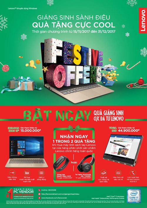 Đón Giáng sinh với đồ chơi công nghệ cực đã từ Lenovo - 1