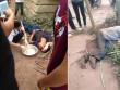 Hai tên trộm gà bị dân đánh gục, quay clip tung lên Facebook