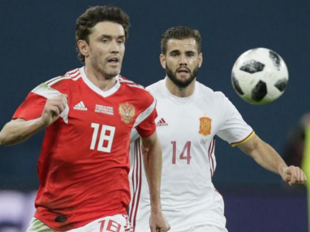Video, kết quả bóng đá Nga - Tây Ban Nha: 2 quả phạt đền, rượt đuổi gây sốc