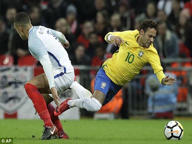 Video, kết quả bóng đá ĐT Anh - Brazil: Neymar đại chiến Rashford, kết quả khó đoán