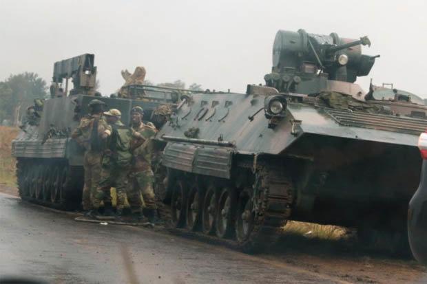 Nổ lớn ở thủ đô Zimbabwe, quân đội chiếm đài truyền hình quốc gia - 2