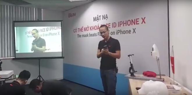 CEO Nguyễn Tử Quảng: iPhone X dễ bị đánh lừa bằng mặt nạ nửa thật nửa giả - 2