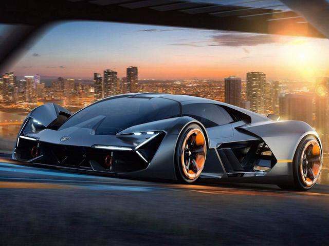 Lamborghini giới thiệu siêu xe tương lai Terzo Millennio - 1