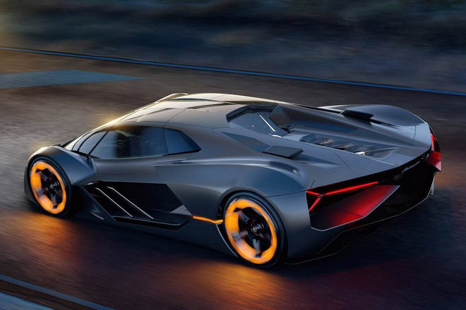 Lamborghini giới thiệu siêu xe tương lai Terzo Millennio - 3