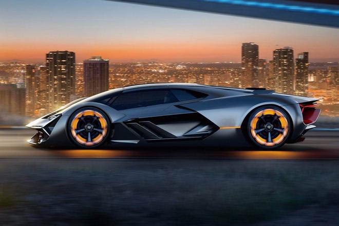 Lamborghini giới thiệu siêu xe tương lai Terzo Millennio - 2