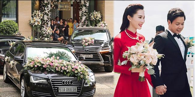 Ngày 6.10 vừa qua, đám cưới của Hoa hậu Đặng Thu Thảo và thiếu gia Trung Tín đã nhận được sự quan tâm của hàng triệu người hâm mộ. Một cô gái xuất thân từ gia đình nghèo khó giờ đã trở thành phu nhân nhà đại gia.