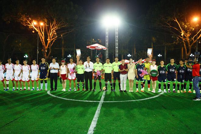 Giải bóng đá mini cúp Bia Sài Gòn 2017: Đậm đà tình bằng hữu - 2