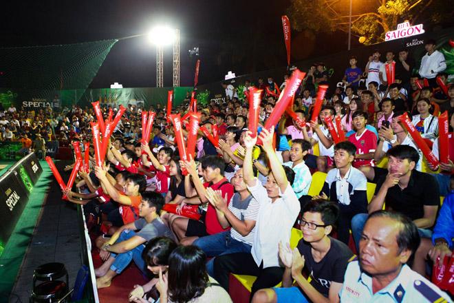 Giải bóng đá mini cúp Bia Sài Gòn 2017: Đậm đà tình bằng hữu - 3
