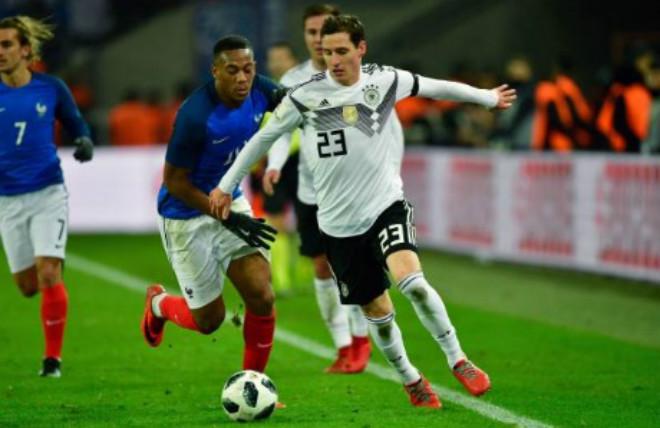 """ĐT Đức - ĐT Pháp: """"Nhát kiếm"""" định mệnh phút 90+3 - 1"""
