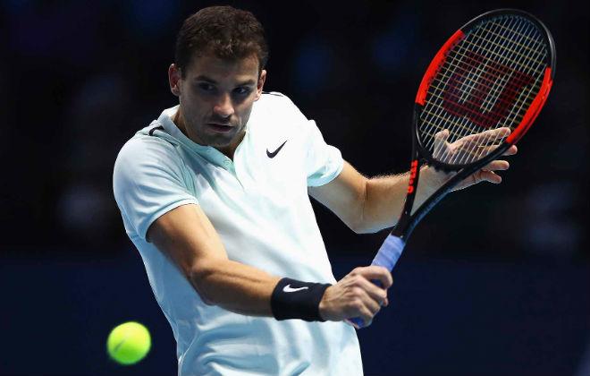 Dimitrov - Goffin: Kinh hoàng 75 phút cực hình (ATP Finals) - 1