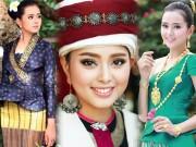 """Cô gái Lào 20 tuổi """"xinh như tiên"""" khiến đàn ông châu Á lạc lối"""