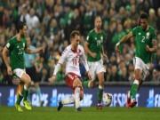 """Bóng đá - CH Ai-Len - Đan Mạch: Người hùng tung 3 """"cú đại bác"""" (Play-off World Cup 2018)"""