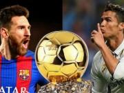 Ngỡ ngàng: Ronaldo gọi điện cho Messi  chia chác  Bóng vàng