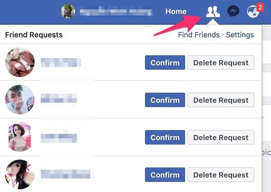 Mẹo xem ai phớt lờ lời mời kết bạn Facebook - 2