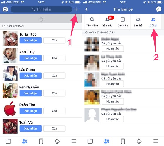 Mẹo xem ai phớt lờ lời mời kết bạn Facebook - 4