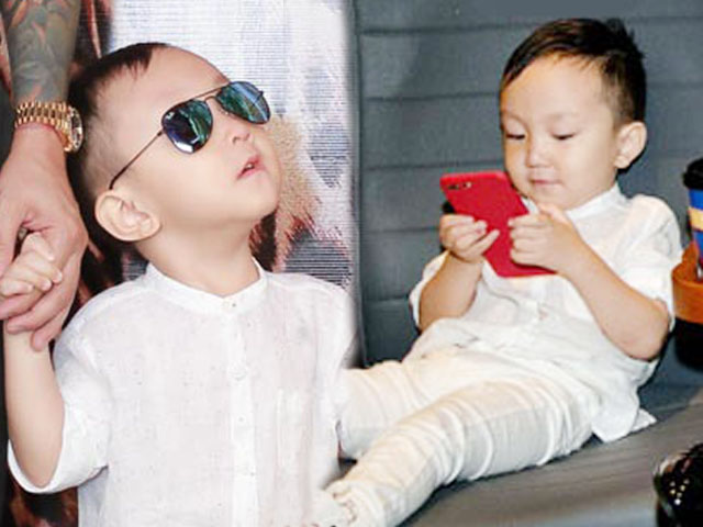 Tuấn Hưng đưa con trai 3 tuổi đi sự kiện