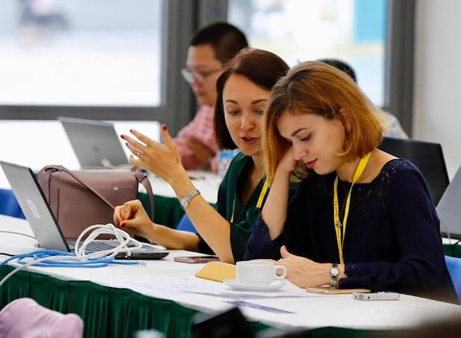 """Tiết lộ gây """"sốc"""" về đường truyền internet phục vụ báo chí tại APEC 2017 - 2"""