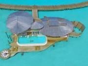 """""""Lạc trôi"""" giữa khu nghỉ dưỡng hạng sang đẳng cấp nhất Maldives"""
